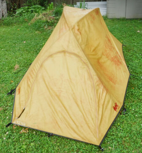 Vintage 1980s Bill Moss Starlet Dome Tent Camden Maine