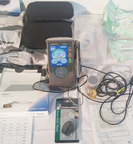BioLase EZlase 940 Soft Tissue Dental Laser System. Loaded With Accessories 2009