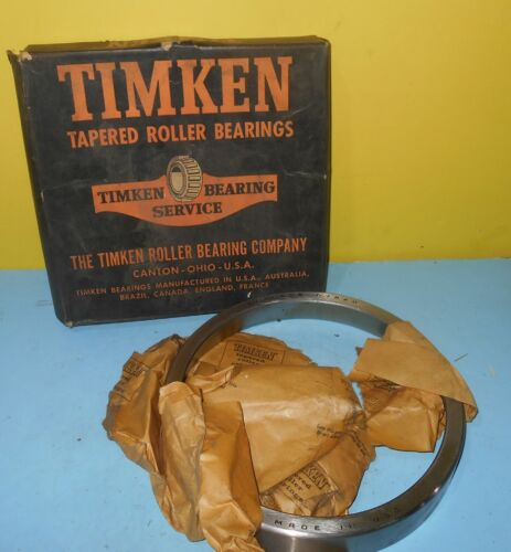 Timken 67820 2-24 Roller Bearing Cup Boxed New from Old Stock