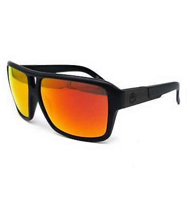 DRAGON Sunglasses THE JAM 2 022 Matte Black Square Unisex (Dragon Jam Sunglasses)