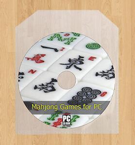 Mahjong for PC Laptop Computer Video Tiles Games Majong Mahjongg CD Disc