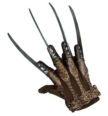 Freddy Krueger Hand A Nightmare on Elm Street Horror Men Costume Glove ()