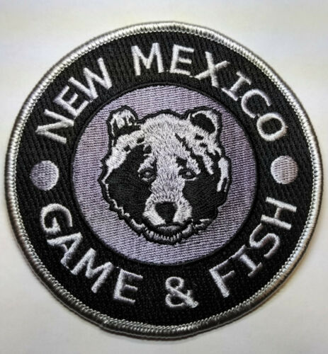 New Mexico Game & Fish Patch // FREE US SHIPPING!