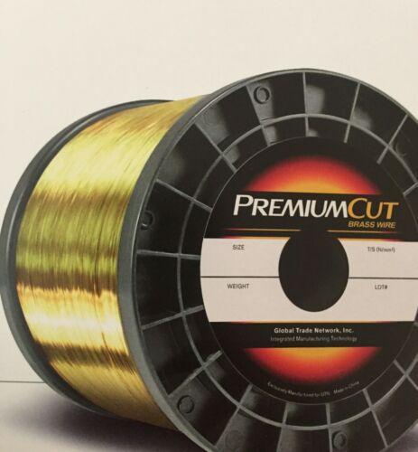 "EDM Wire PremiumCut Brass wire .01"" DIA. 10kg (22 lbs) spool"