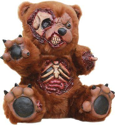 Halloween PLUSH BAD LITTLE EVIL TEDDY BEAR PROP Haunted House NEW (Evil Teddy Bear Halloween)