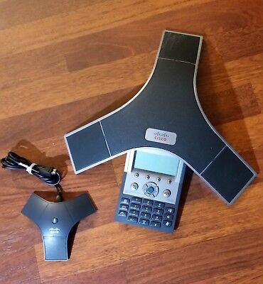 Cisco Cp-7937g Polycom Ip Conference Phone Station 7937 Poe Voip 2201-40100-001