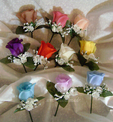 Rose Boutonniere~Corsage~your choice~Groom~Best