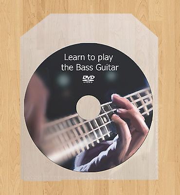 Learn how to play the Bass Guitar lessons DVD video guide tutorial tuition on Rummage