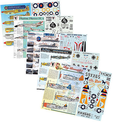 1/144 1/72 1/48 1/32 MASSIVE 8GB USB MODEL DECAL DATABASE for MILITARY AIRCRAFT