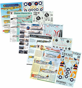 1/144 1/72 1/48 1/32 VAST 16GB USB MODEL DECAL DATABASE FOR MILITARY AIRCRAFT