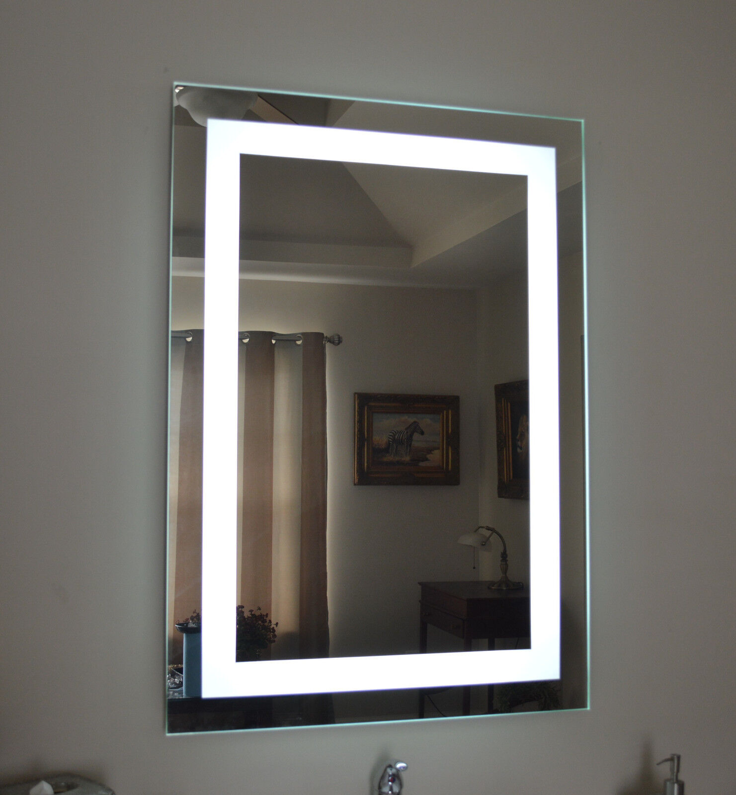 lighted wall mirrors for bathrooms lighted bathroom vanity make up mirror led lighted wall 23701