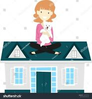 House and pet sitting