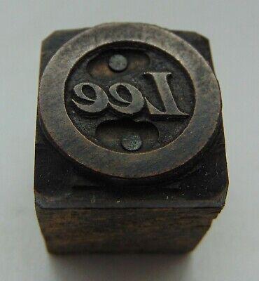 Vintage Printing Letterpress Printers Block Lee