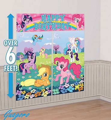 My Little Pony Scene Setter Birthday Banner Decoration party Favor Supplies - My Little Pony Party