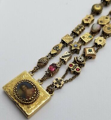 Antique Victorian 14Kt Gold 7.5