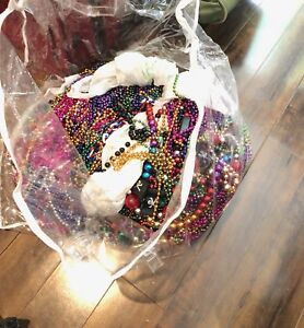 Massive lot of Mardi gras beads / necklaces