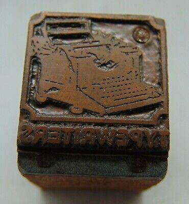 Printing Letterpress Printers Block Typewriters