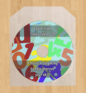 Learn your Times Tables multiplication CD! Improve your maths singalong games