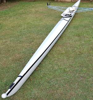 Scull Boat Racing Light & Fast