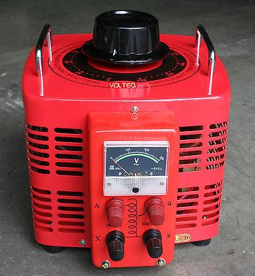 Volteq 5kw Transformer Variac 5000va 0-250v 220v Input