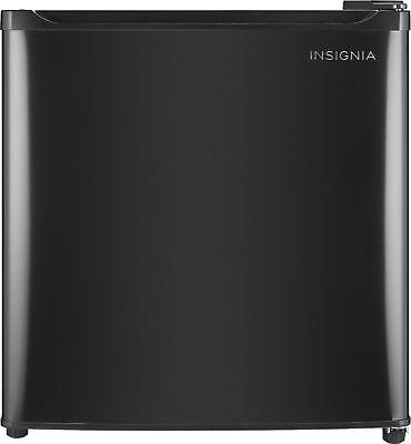 Insignia- 1.7 Cu. Ft. Mini Fridge - Black