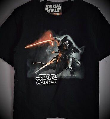 Star Wars T Shirt  Short Sleeve Kylo Ren Disney Black T Shirt T2TC375