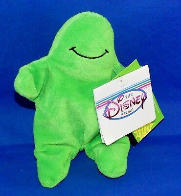 "Disney FLUBBER w/Sound (No Sound) 7"" Green Bean Bag Plush 1997 w/Tags EX"