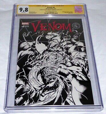 Venom #6 CGC SS Dual Signature Autograph STAN LEE Scorpion Comics Sketch Variant