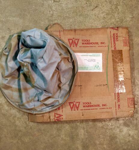 """Black & Decker 15"""" Cloth Filter Bag Fits 16-20-25 Gallon Vacuums"""