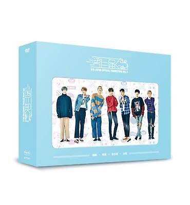 BTS Bangtan Boys OFFICIAL JAPAN FANMEETING VOL.3 DVD + Photo book + Card New F/S