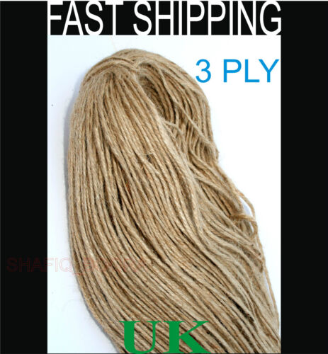 Natural Jute String Twine for Shabby Chick Country Crafts Hanging Decorations