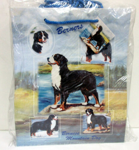 Bernese Mountain Dog Pet Dog Gift Bags Set of 10 Large Bags By Ruth Maystead