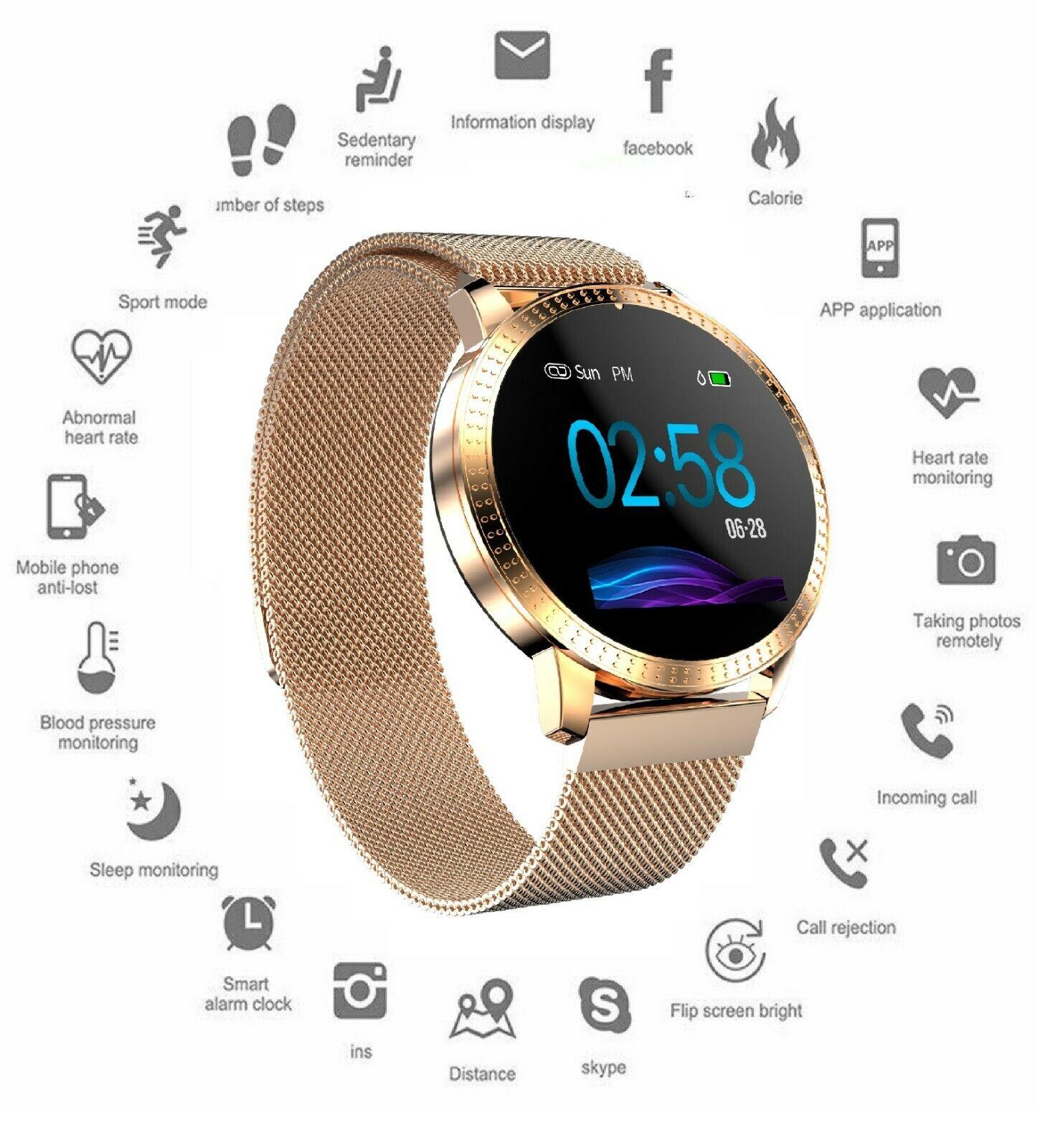 Waterproof Activity Tracker Smart Watch for Samsung iPhone i