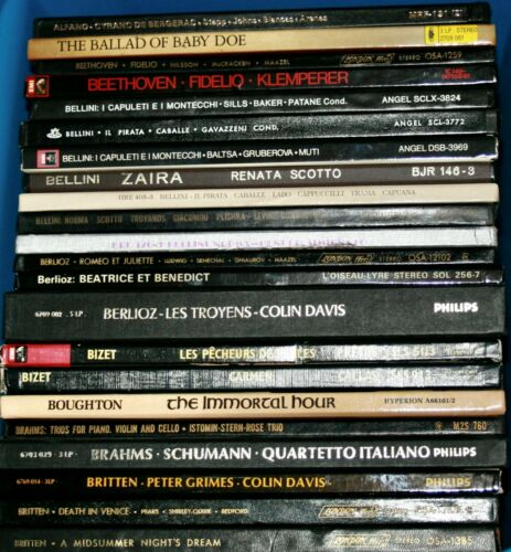 Vinyl Records - 140+ Box Sets of Classical, Opera, Your Choice EXC $10