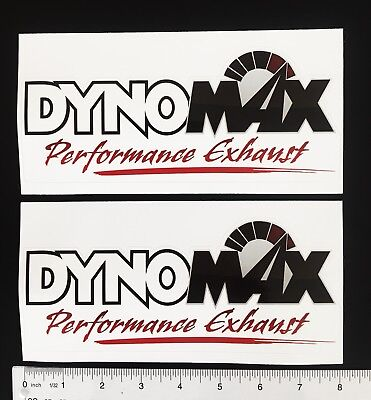 Dynomax Performance Exhaust - NEW DYNOMAX performance exhaust decals (2)