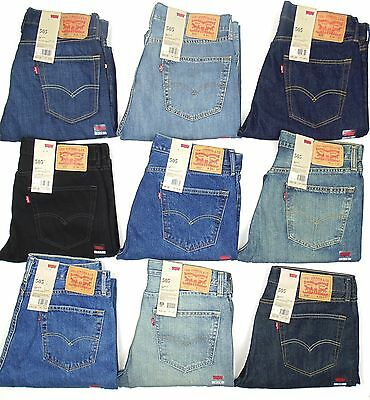 Levis 505 Mens Jeans Regular Fit Straight Leg MANY SIZES COLORS New With Tags