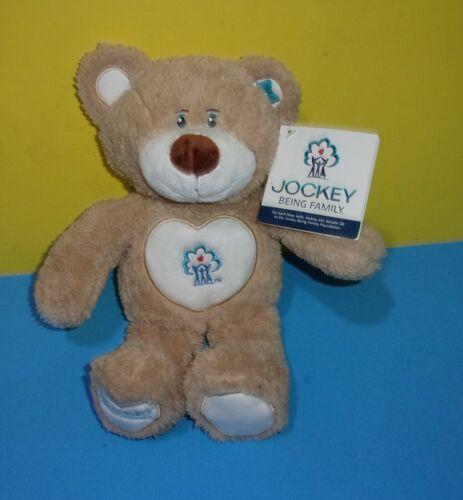 "12"" Jockey Being Family Charity Donation Promo Soft Plush Teddy Bear w/ Tag"