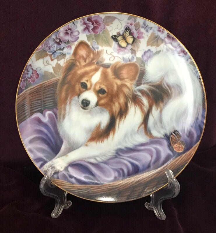 DANBURY MINT LIMITED EDITION BUTTERFLY PRINCESS PORCELAIN PLATE  # A 923