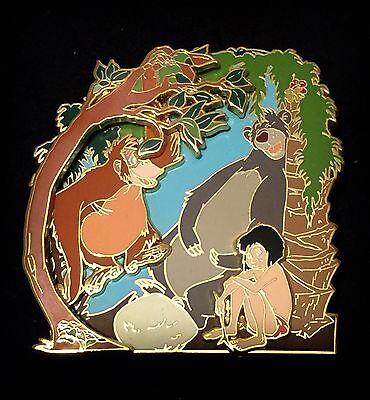 DSF LE 300 Jungle Book Mowgli Baloo Swinging King Louie Disney DSSH 3D Pin 56900