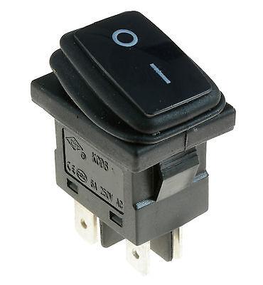 Rectangle Rocker Switch (Waterproof Resistant Rectangle Rocker Switch IP65 DPST)