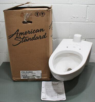 American Standard Elongated Wall Mounted Toilet 3353101.020, Afwall Millennium American Standard Afwall Wall