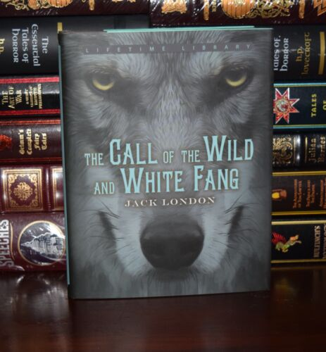 Call of the Wild & White Fang by Jack London New Deluxe Hardcover Gift