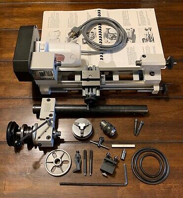 Emco Unimat 3 Combo Benchtop Mini Hobby Watchmaker Lathe Mill Made In Austria