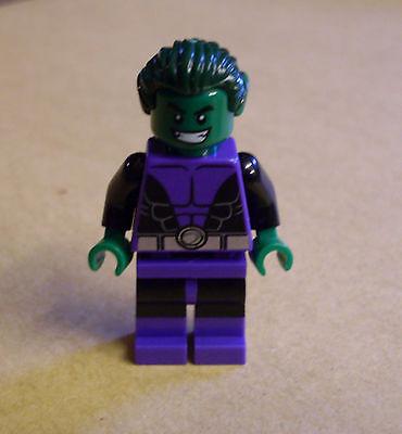 Lego Superhelden - Beast Boy ( Batman Super Heroes Man lila grün -76035 ) (Superhelden Boy)