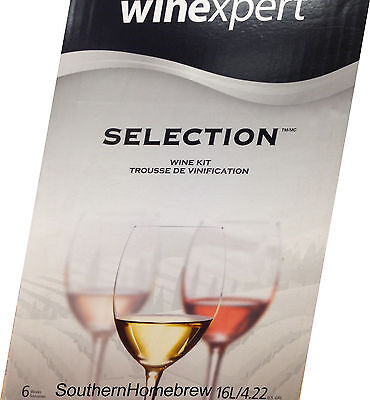 Winexpert Selection Original California White Zinfandel Wine Making Kit ()