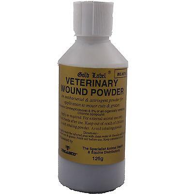 Pulver Erste Hilfe (Gold Label Tierarzt Wunde Pulver Antibakteriell Erste Hilfe Reiter Gld0938)