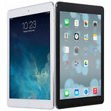 "NEW Apple iPad Air 9.7"" Retina Display A7 16GB iOS8 Wi-Fi White/Black"