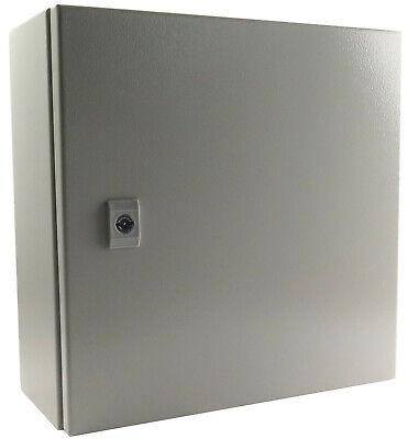 Yuco Yc-20x20x8-ip65 Ip65 Enclosure Nema Type 4 With Gland Plate 20 20 8