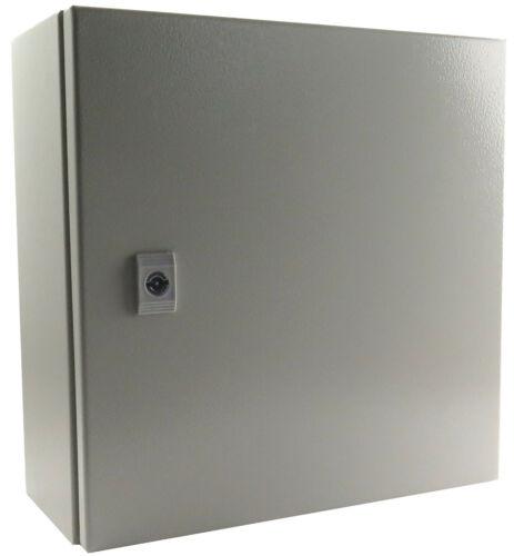 "Yuco YC-20X20X8-IP65 IP65 Enclosure Nema Type 4 With Gland Plate 20"" 20"" 8"""
