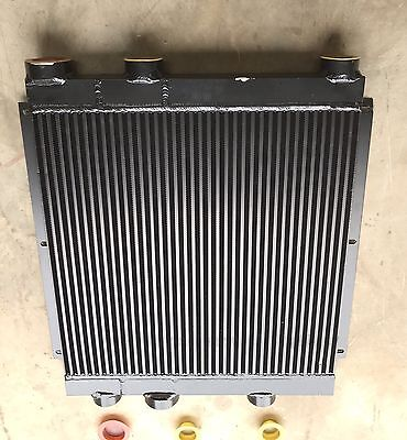 Heavy Duty Aluminum Oil Cooler Quincy Compressor 23.50 X 22.64 X 3.25 Core